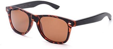 SKADINO Wayfarer Wood Bamboo Sunglasses With Polarized Lenses-Handmade Wood For Men&Women