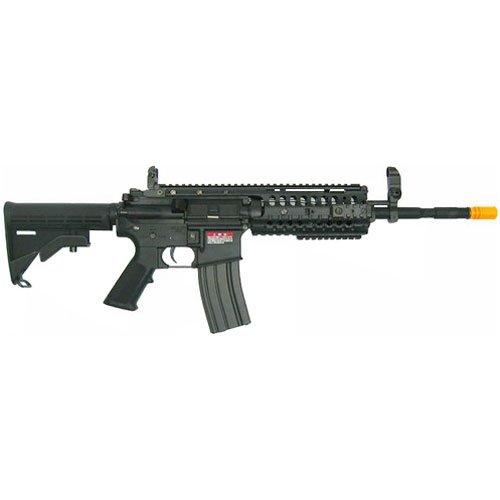 Jing Gong JG M4 RIS System Airsoft Gun 500 FPS