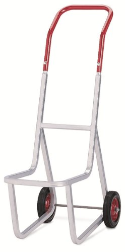 Raymond 500 Stacked Chair Dolly with 8'' x 1-3/4'' Skid-Resistant Rubber Wheel, 240 lbs Capacity, 14-1/2'' Width x 48'' Height x 33-1/2'' Depth by Raymond Products