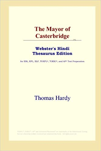 The Mayor of Casterbridge (Webster\'s Hindi Thesaurus Edition ...