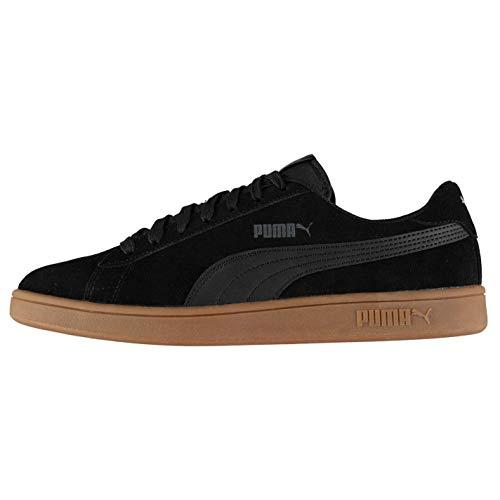 Puma Unisex-Erwachsene Smash V2 Sneaker, BLACK / BLACK