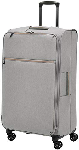 AmazonBasics Belltown Softside Luggage Spinner Suitcase Spinner - 29-Inch, Heather Grey