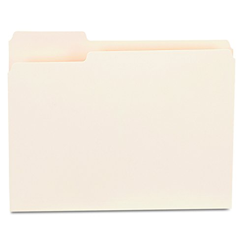 Position Top Tab Letter (Universal 12121 File Folders, 1/3 Cut First Position, One-Ply Top Tab, Letter, Manila (Box of 100))