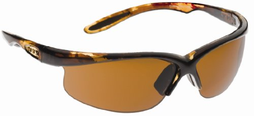 NYX Classic Competition Series Sunglasses with 3 Interchangeable Lenses (Brown Tortoise Frame / Sleek Style / Amber 3-Lens - Sunglass Nyx