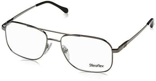 (Sferoflex SF2249 Eyeglass Frames 268-5716 - Gunmetal)