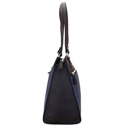 Lapis O Lupo Appalling Damen Handtasche Blau Multi Pocket Designer-Satchel