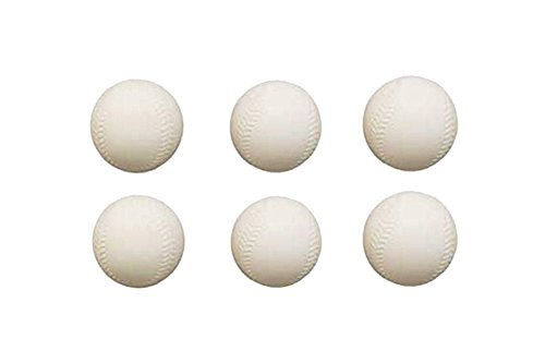 Replacement Fisher Price Triple Hit Foam Baseballs - Pack of 6