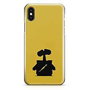 Loud Universe Wall E Impression iPhone X Case Save Planet iPhone X Cover with 3d Wrap around Edges