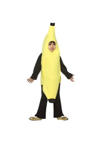 Kid Banana Costume - Rasta Imposta Light Weight Banana, Yellow, 3-4T