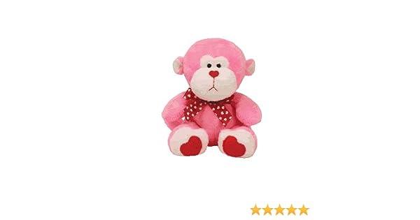 Amazon.com  Ty Beanie Babies Junglelove - Valentine s Monkey  Toys   Games d4831fc15f8c