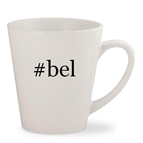 #bel - White Hashtag 12oz Ceramic Latte Mug Cup