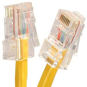 Patch 2' Non Boot - 2Ft Cat.6 Non-Boot Patch Cable Yellow
