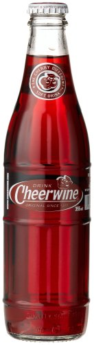 Cheerwine 12 ounce Glass Bottles (Pack of 12)