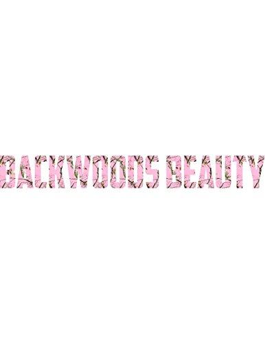 - BACKWOODS BEAUTY WINDSHIELD DECAL 4X36