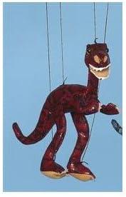 Dinosaur (Burgundy) Small Marionette