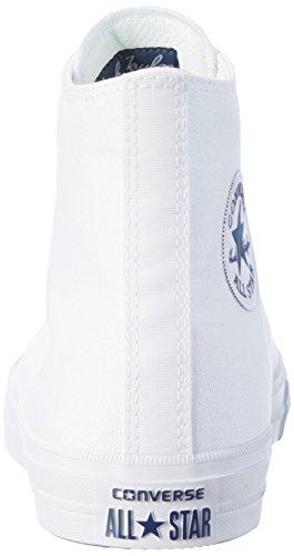 Hi Uomo Ct navy Sneaker Alto A white Bianco Ii white Collo Converse Zq0wRxq