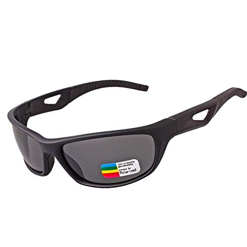 Yuany Cycling Glasses Outdoor Sports Glasses Windshield Polarized Anti-UV Sunglasses Motorcycle Goggles Men and Women