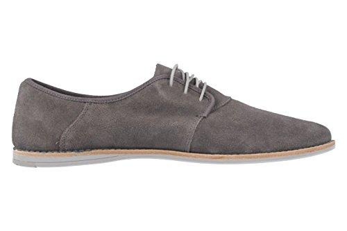 TIMBERLAND - Revenia Oxford - Herren Halbschuhe - Grau Schuhe in Übergrößen