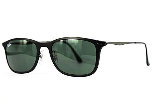 Ray-Ban RB4225 - 601S71 Sunglasses Black w/ Green Classic Lens 52mm (Wayfarer Light Ray)