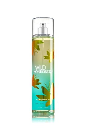 Bath & Body Works Wild Honeysuckle Fine Fragrance Mist, 8.0 Fl Oz