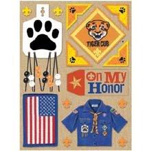 K&Company Boy Scout Tiger Cub Grand Adhesions ()