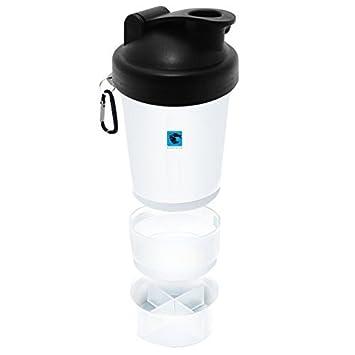 gymadvisor AGITADOR proteína botella agua deportes tapones smartshake 600ML GIMNASIO: Amazon.es: Deportes y aire libre