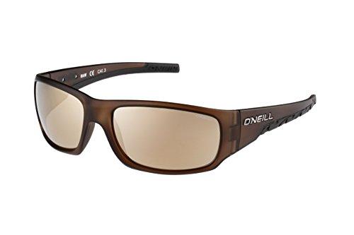 O'Neill Raw 103 Wrap Sunglasses - Matte Brown,black & Gol...