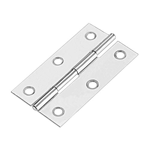 Chrome Hinge Fittings - uxcell 2.6