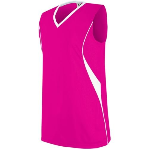 Custom Jersey Soccer V-neck (Side Piping Décor - Women's/Girls Athletic Sports Jersey Moisture Management, V-Neck Sleeveless Shirt (Uniform Softball, Soccer, Volleyball))