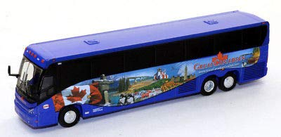 - MCI J4500 Diecast Bus Trailways Great Canadian1:87 Scale HO Scale Iconic Replicas