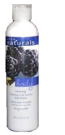 Avon Vanilla Body Lotion (Naturals Blackberry & Vanilla Nourishing Indulgence Hand & Body Lotion 8.4 Fl Oz By Avon)