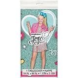 JoJo Siwa Plastic Tablecover 54'' x 84''