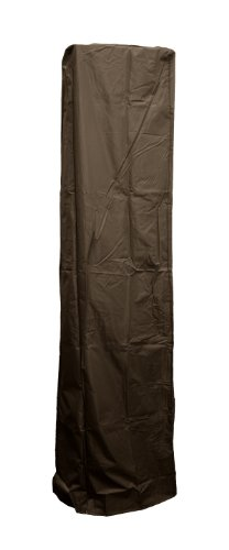 AZ Patio Heater Cover for Square Glass Tube Heater, Mocha (Patio Heaters Glass Tube compare prices)