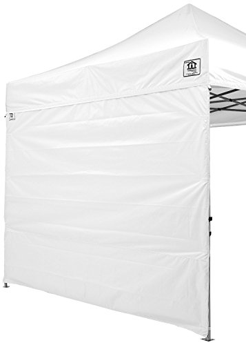 Impact Canopy 10 x 10 Canopy Tent Sidewalls Kit, Solid Sidewalls and Screen Mesh Walls Combo Pack, Walls Only, Frame and Top Not Included, (Mesh Canopy Kit)