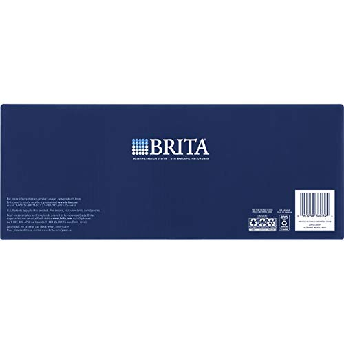 Brita Extra Large 18 Cup UltraMax Water Dispenser and Filter - BPA Free - Black by Brita (Image #9)
