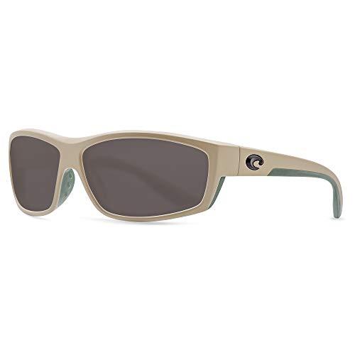 Costa Del Mar Saltbreak Sunglasses (Sand, Gray Polarized Plastic (580))