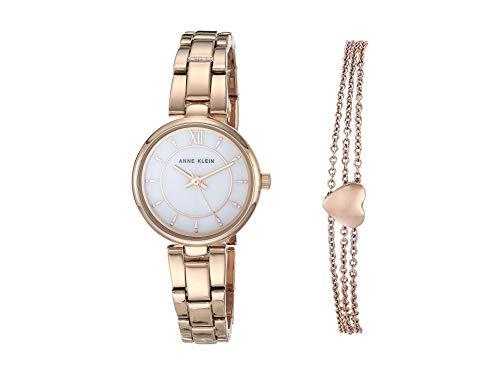 ساعت مچی زنانه آن کلاین مدل  AK/3598RGST به همراه دستبند