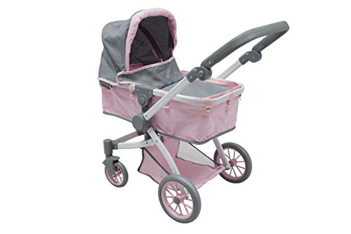 Kookamunga Deluxe 3 in 1 Doll City Pram