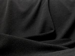 Black Stretch Gabardine - 6