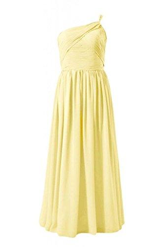 Dress Women banana Bridesmaid Shouleder Chiffon 24 Evening DaisyFormals Long One Dress BM1531B Z8nq7
