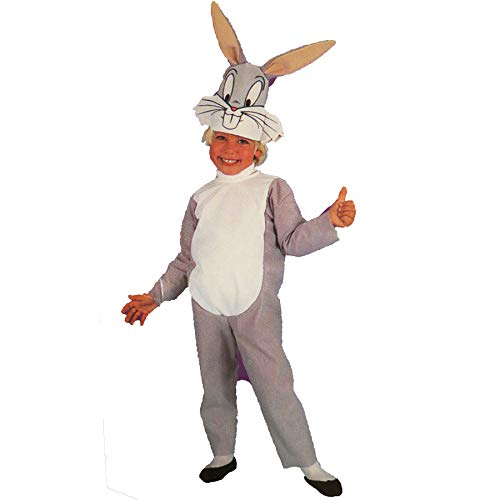 Looney Tunes Bugs Bunny Halloween Costume Child Size for 3-4 -