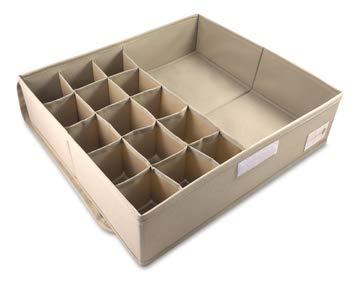 Cassetti Contenitori Sotto Letto : Contenitore sottoletto piÙ divisore per cassetti per conservare con