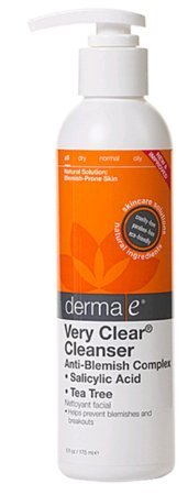 Derma e:-très-clair-nettoyant, 6 oz (pack de 3)
