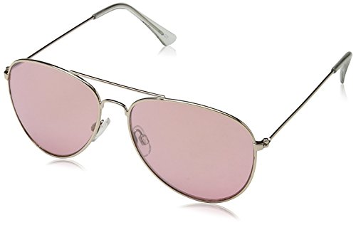 Mujer 52 para Lens Gafas Frame Metal Aviator Light Sol Pink Gold Beach South Dorado with de ZOqnF14S
