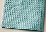 917413 PT# 917413- TIDI Bibs 17''x18'' 3Ply+Poly Blue 500/Ca by, Tidi Products LLC