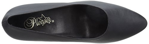 Pleaser FAB-420W - Zapatos de Tacón Mujer Negro (Schwarz (Blk Faux Leather))