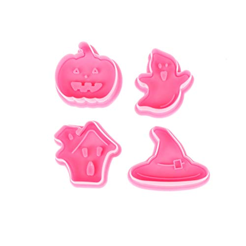 1 piece 4PC Pumpkin Cookie SugarCraft Cutter Halloween confectionary Molds Press Plunger Cookie Cutter Fondant Cake Decorating Tools -