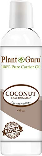 Coconut Oil Base (Fractionated Coconut Oil 4 oz. Base Carrier for Aromatherapy, Essential Oils or Massage use)