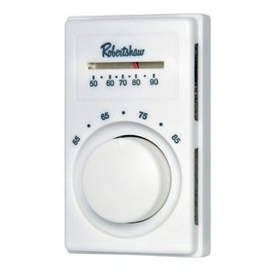 Line Voltage Thermostat Cool Only White Programmable