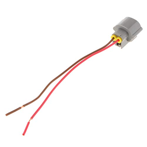 KESOTO 1x Connector 2 pin Wiring Plastic Cable Harness Connector Plug for Turn Signal Light 156: